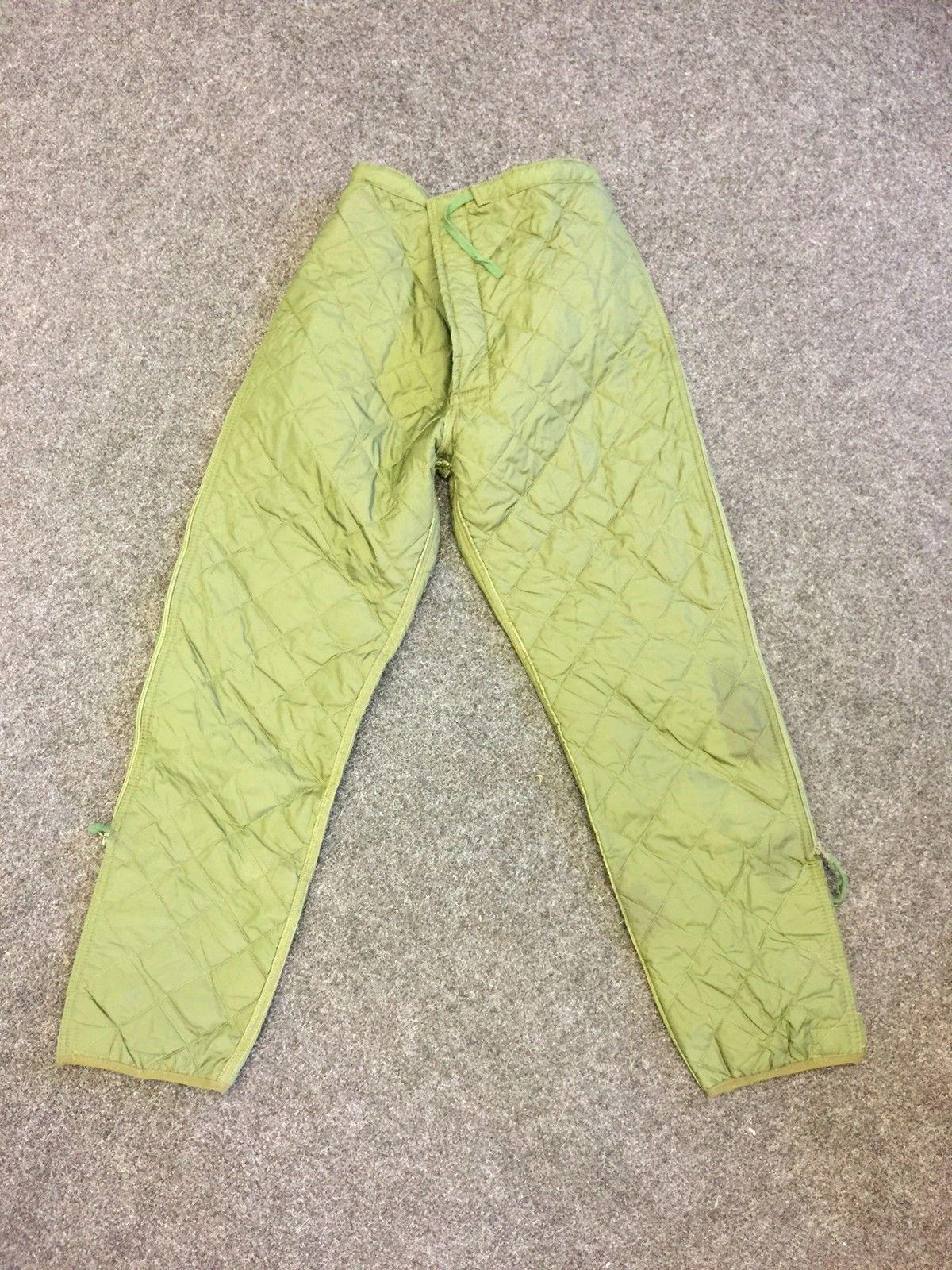 British army surplus extreme cold weather trousers liners