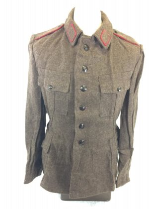 Vintage Bulgarian East European army surplus wool jacket