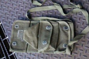 French army / Foreign Legion / military surplus hand grenade pouch - UNISSUED