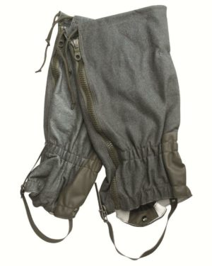 Swiss army surplus leg gaiters, waterproof, durable
