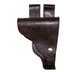 East european army surplus pistol holster, makarov sized, brown leather