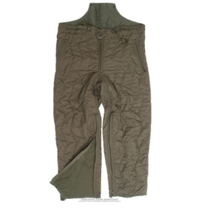 German army surplus quilted thermal cold weather base layer trousers