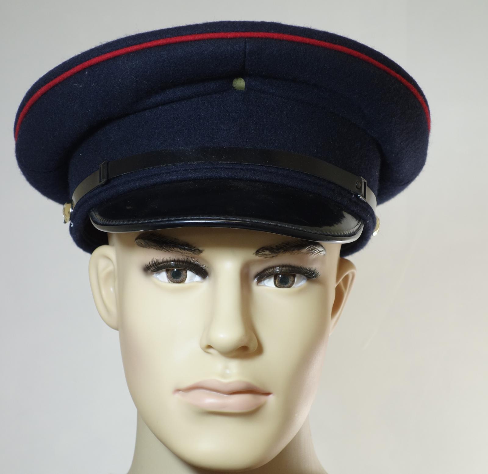 British army surplus Engineers (?) dress uniform peaked cap hat