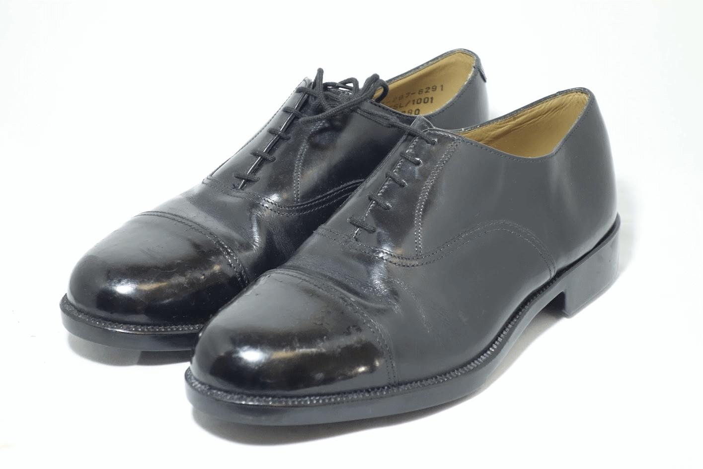 British army surplus black leather