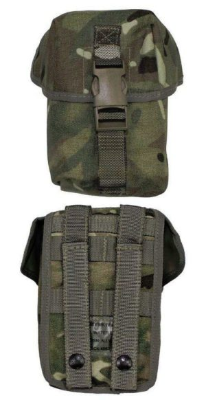 British army surplus osprey mtp plce mulitcam water bottle / utility pouch