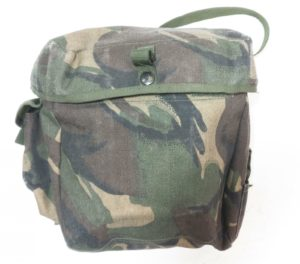 British army surplus DPM camouflage gas mask respirator bag