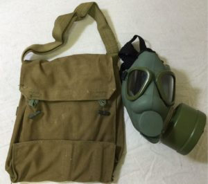 Finnish (m9 style) GAS MASK, FILTER & BAG -new/unissued