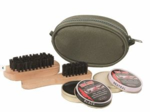 Compact shoe cleaning kit from MILTEC of Germany camping cadet hiking military