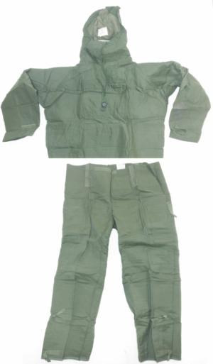 British army surplus MK3 NBC suit, vacuum packed, NEW OLD stock