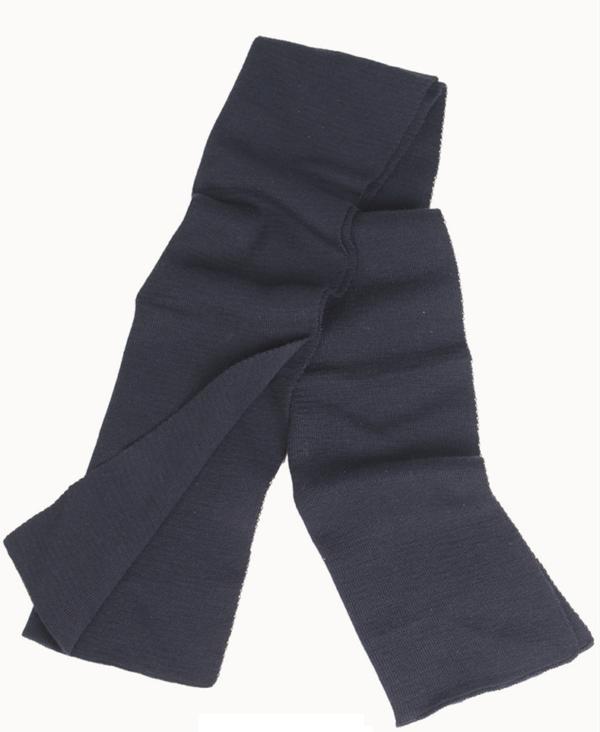 Genuine German Army BW Wool Scarf in BLUE colour