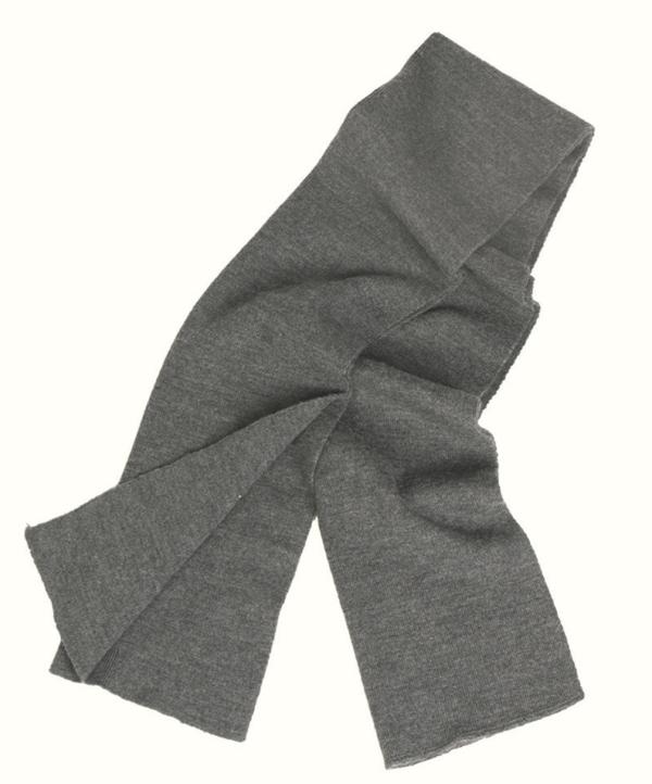 Genuine German Army BW Wool Scarf in grey colour