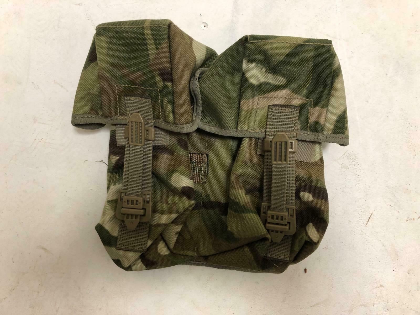 British army surplus MTP camouflage double ammo pouch