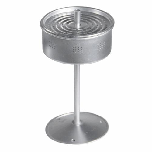 Aluminium coffee percolator , retro vintage style complete with insert