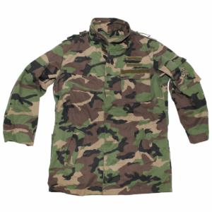 Czech army surplus M97 woodland camouflage parka