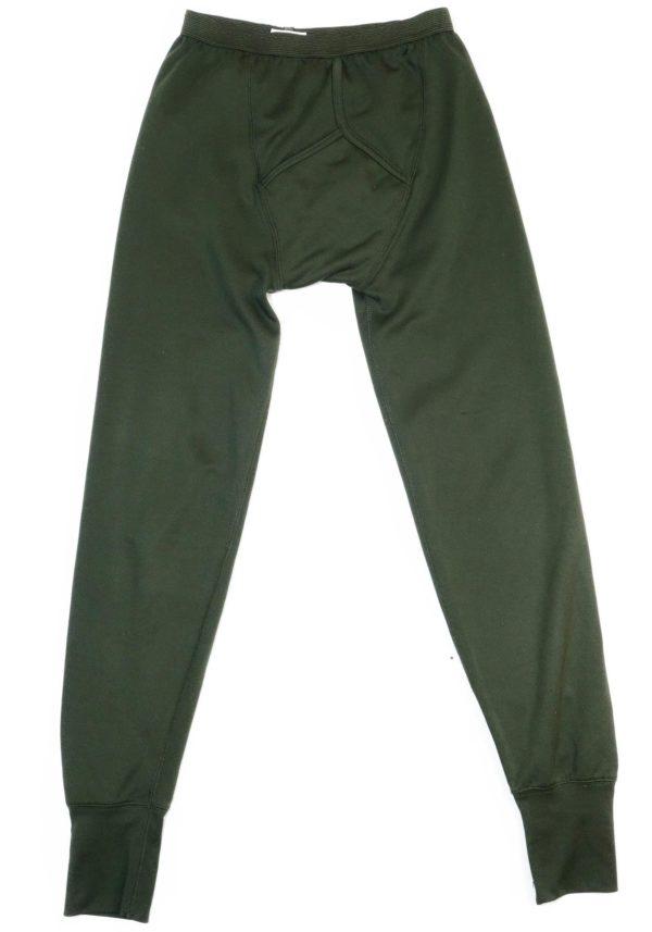 British Army Surplus PCS Olive Long Johns Drawers Thermal Underwear