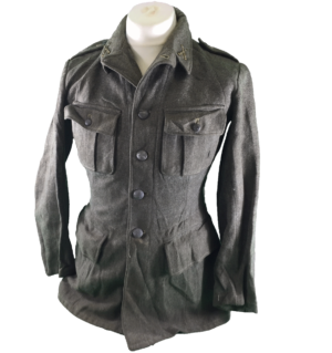 Vintage Swedish army surplus ww2 era M39 wool tunic jacket