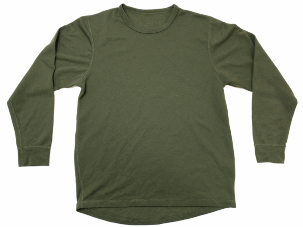 British Army PCS Olive Thermal Vest / Base Layer Underwear