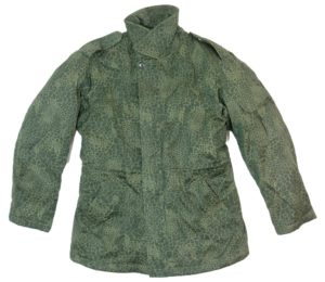 Polish East European army surplus puma camouflage parka