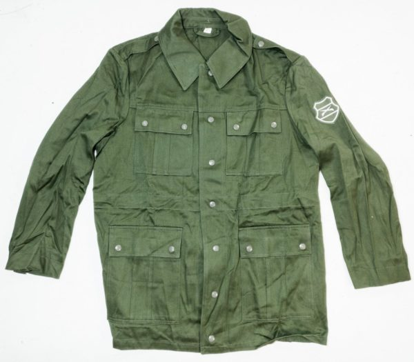 Hungarian army surplus olive green cotton field jacket NEW