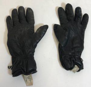British army surplus Black leather mk2 combat gloves