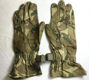 British army surplus MTP camo leather combat glove