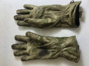 British army surplus padded MTP camouflage combat gloves