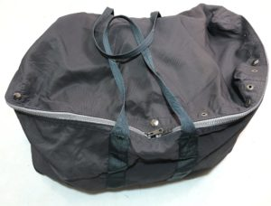 East European military surplus flight pilot holdall bag