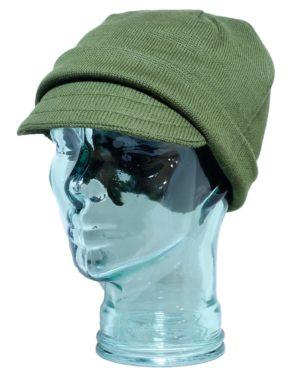 Italian Army Surplus Wool Jeep Hat Cap