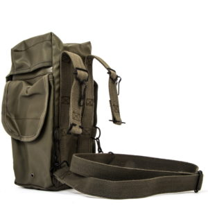 NEW French army surplus waterproof respirator gas mask bag case