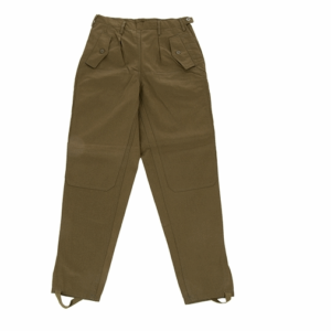 Cezh military surplus olive green WOMENS M85 trousers