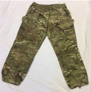 British army surplus MTP camouflage combat trousers