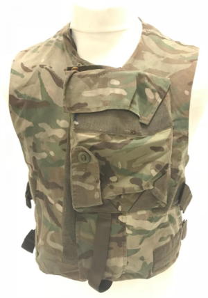 British army surplus MTP camouflage vest armour plate carrier flak