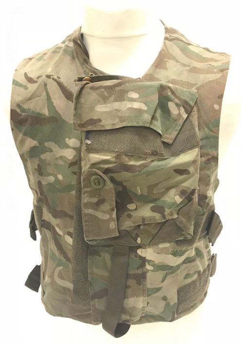 British army surplus MTP camouflage vest armour plate carrier flak
