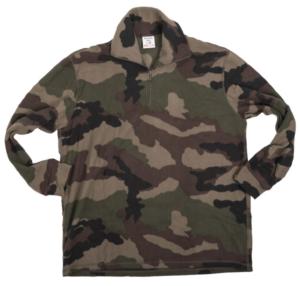 French Army Surplus BRAND NEW Fleece Woodland Camo