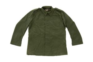 Swedish army surplus heavy cotton vintage green field jacket