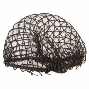Austrian army surplus el;asticated fixing olive helmet netting