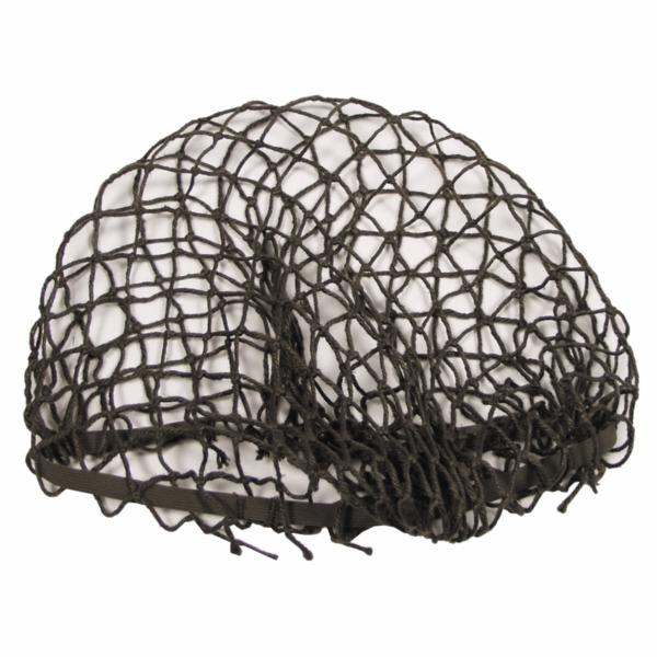 Austrian army surplus el;asticated fixing olive helmet netting