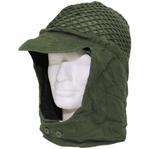 Sweidsha military surplus helmet netting with neck cover
