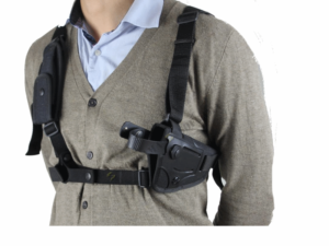 French police / military surplus concealed pistol shoulder holster