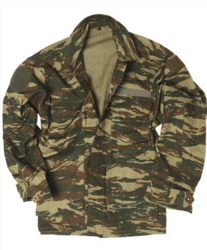 Army surplus UNISSUED field jacket in ripstop cotton lizard camo