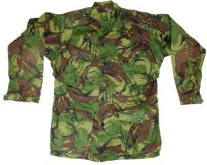 British military surplus DPM camouflage combat smock