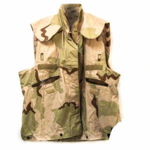 Original US American army surplus PASGT desert camo ves