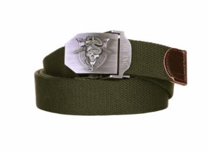 De Oppresson Liber /special forces cotton canvas metal combat style belt