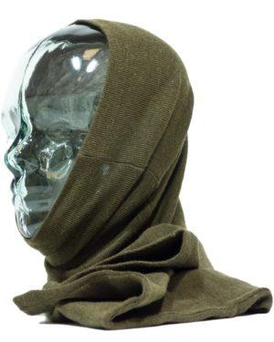 NEW Czech army surplus LONG snood headover balaclava tube scarf