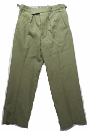 British army military surplus No2 Olive barrack uniform trousers