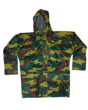 BRAND NEW Belgian army surplus jigsaw camouflage GORETEX parka