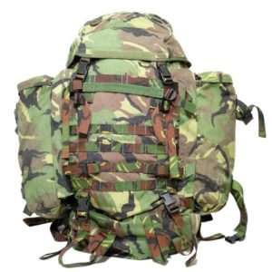 Dutch army surplus STING backpack rucksack w / side pouches