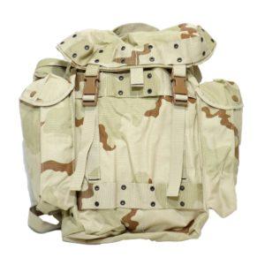 dutch army surplus desert camouflage rucksack day pack 40l