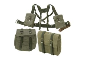 Swedish army surplus 5 (6) piece NEW/UNISSUED webbing set