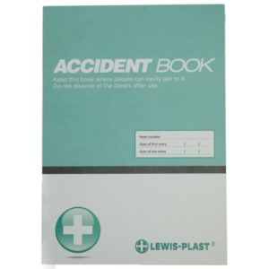 A4 First Aid Accident Book GDPR Compliant 50 Page Report Form RIDDOR HSE